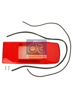Tail lamp glass