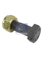 Bolt with safety nut